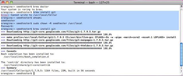 转)How to Install Xcode, Homebrew, Git, RVM, Ruby & Rails on